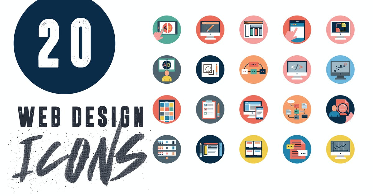 Download 20 Web Application Icons by thedighital