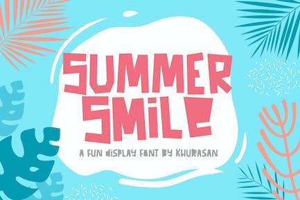 Sonrisa de verano