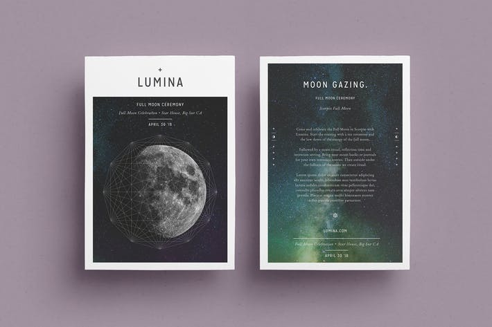 Thumbnail for LUMINA Flyer Template