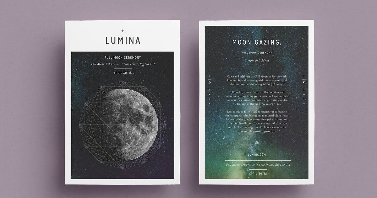 Download LUMINA Flyer Template by FortySixandTwo
