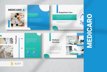 MEDICARO - Медицинский Шаблон слайдов Google