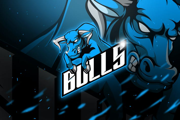 Thumbnail for Bulls - Mascot & Esport Logo