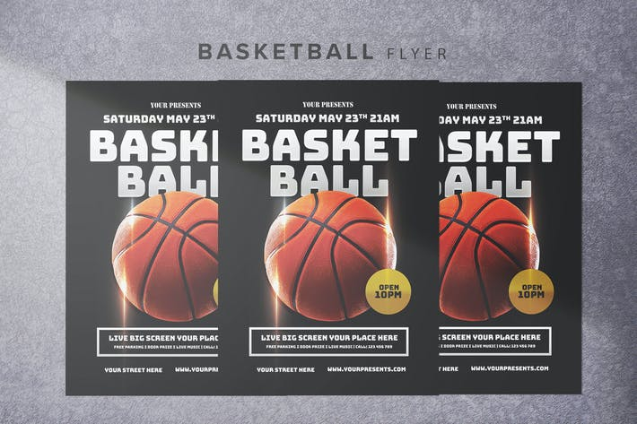 Thumbnail for Basketball Flyer