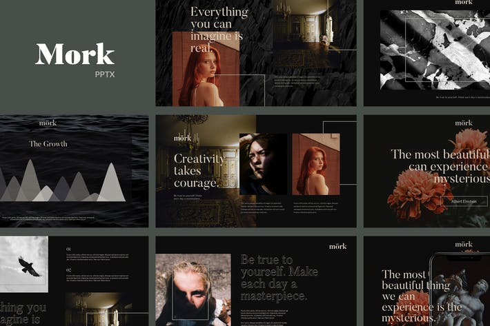Thumbnail for Mork - Creative Modern Powerpoint Template