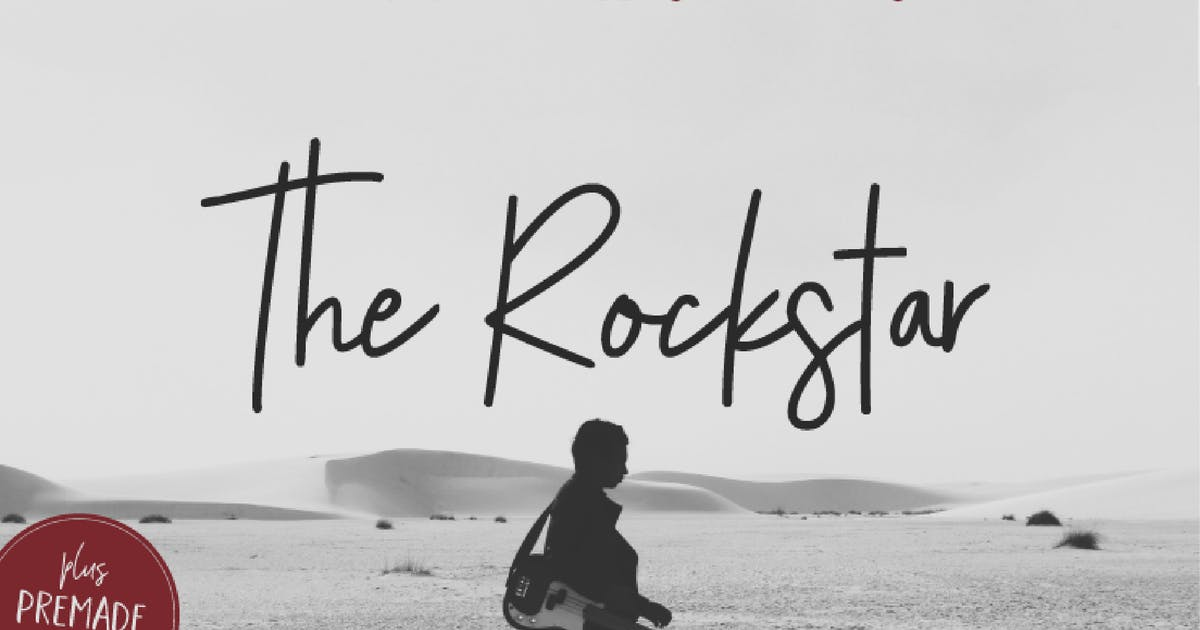 Download The Rockstar Font Duo by michael_gilliam