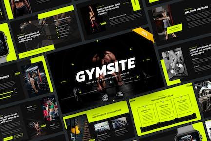 Gymsite - Fitness & Gym Google Slide