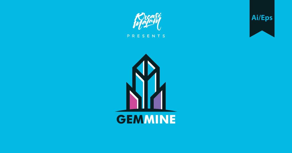 Download Gem Mine Logo Template by Ijajil