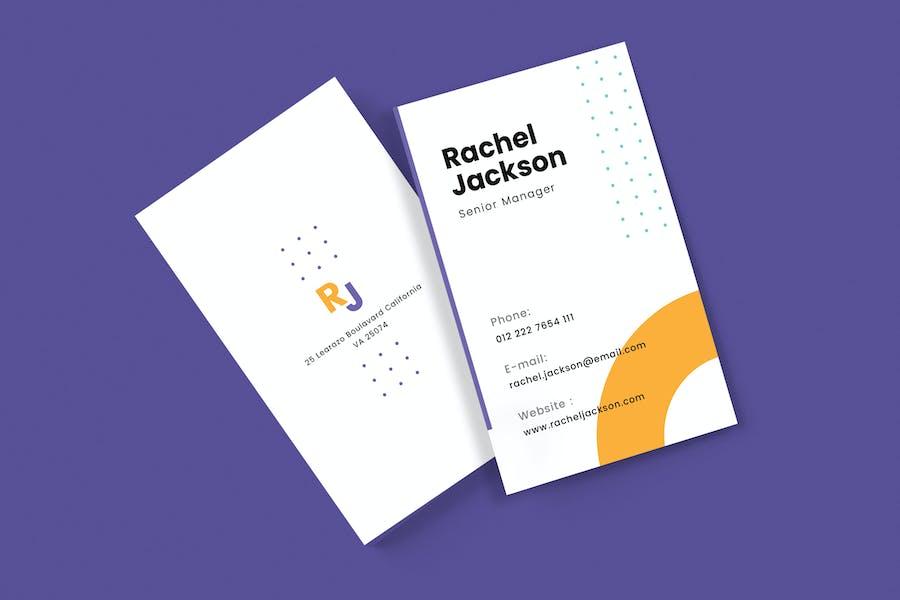 Professional Business Card v47