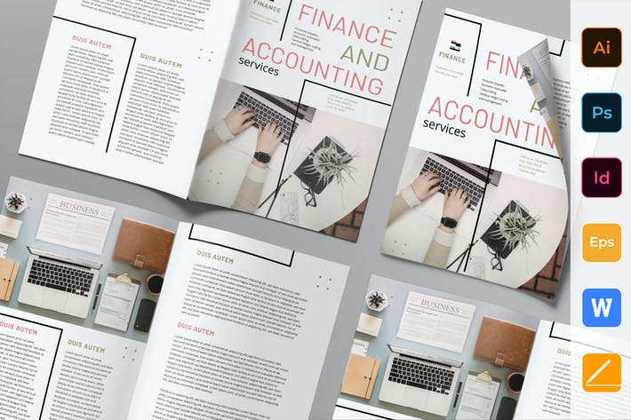 Thumbnail for Finance and Accounting Brochure Bifold