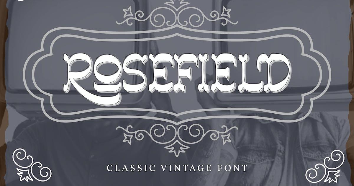 Download Rosefield | Classic Vintage Font by Vunira