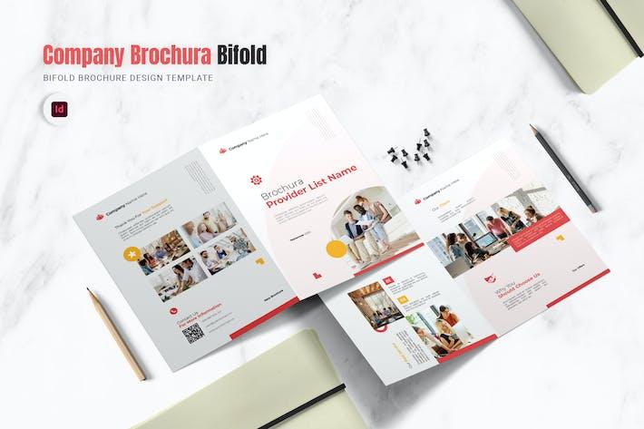 Thumbnail for Company Brochura Bifold Brochure