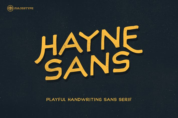 Thumbnail for Hayne Sans