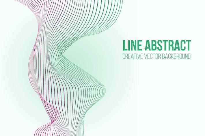 Thumbnail for Arrière-plan Vecteur abstrait ligne 2