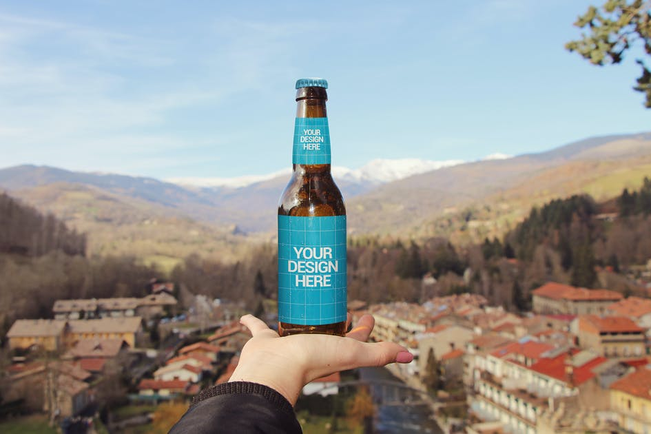 Download Hand Beer Mockup by SmartDesigns_eu