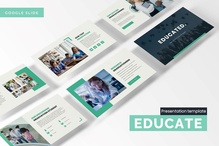 Thumbnail for Educated - Google Slides Template