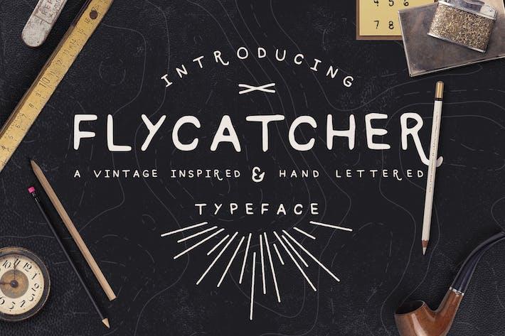 Thumbnail for Flycatcher Font