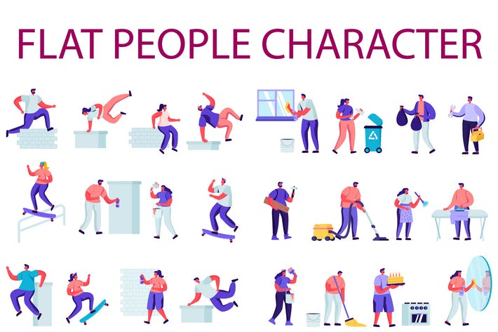 Cover Image For People Character Creator Kit