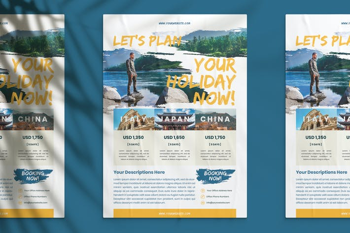 Thumbnail for Plan Your Holiday Flyer