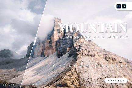 Mountain Desktop and Mobile Lightroom Preset