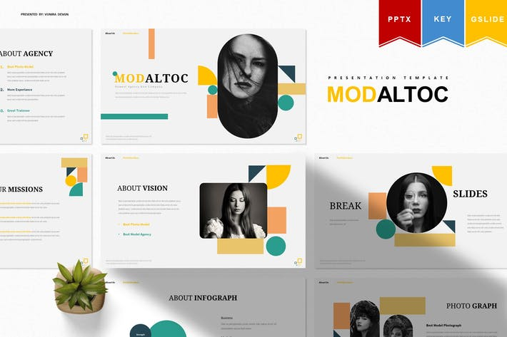 Thumbnail for Modaltoc | Шаблон презентации