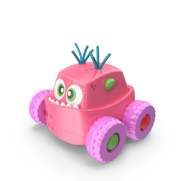 Thumbnail for Pink Monster Car Toy