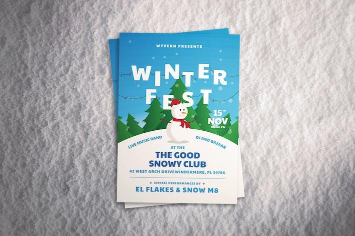 Thumbnail for Winter Festival Flyer