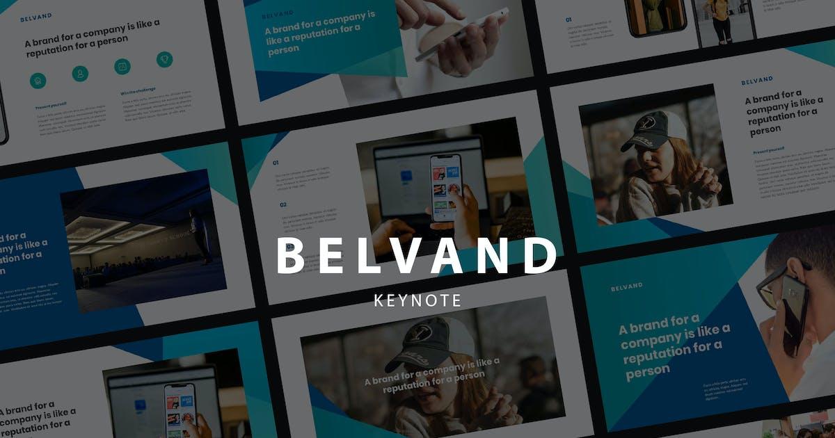 Download BELVAND - Corporate Keynote Template by Slidehack