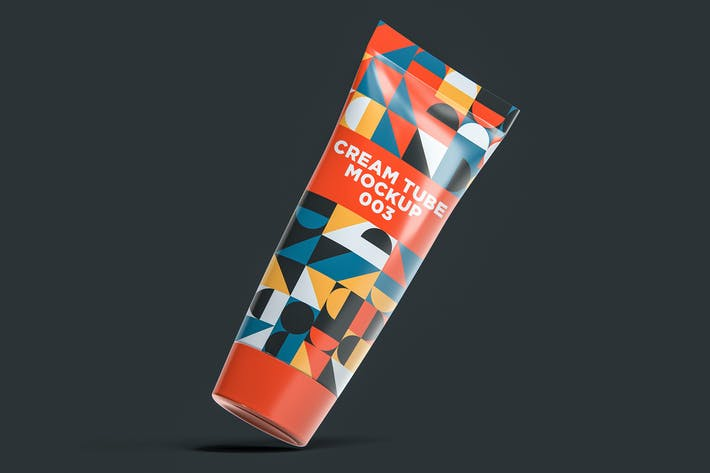Cream Tube Mockup 003