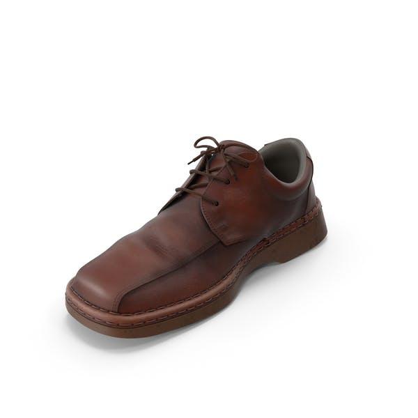 Men's Shoes Dark Brown