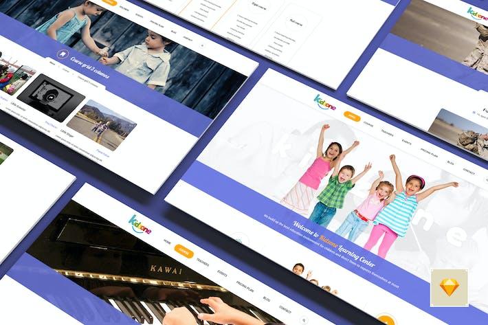 Thumbnail for Kidzone - Ecole Primaire Pour Enfants Sketch