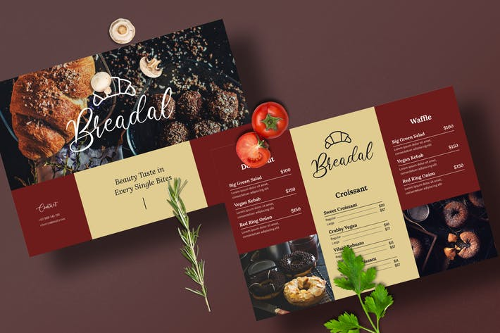 Thumbnail for Restaurant Menu Template
