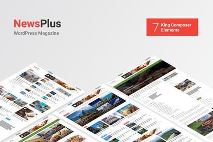 NewsPlus - News and Magazine WordPress theme