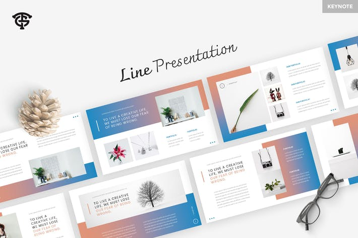 Thumbnail for Line - Keynote
