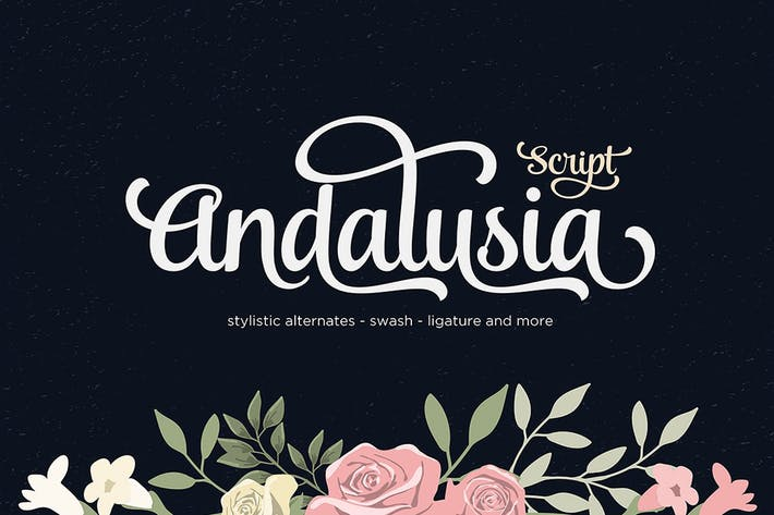Cover Image For Andalusia Script