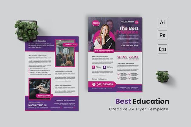 Best Education Flyer