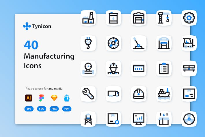 Tynicon - Manufacturing Icons
