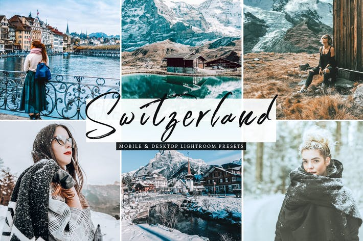 Thumbnail for Switzerland Mobile & Desktop Lightroom Presets