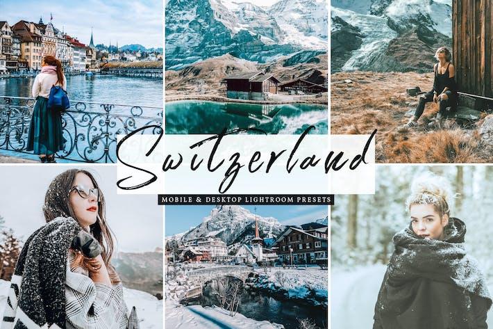 Cover Image For Switzerland Mobile & Desktop Lightroom Presets