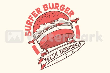 Surfer Burger