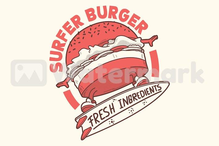 Thumbnail for Burger surfeur