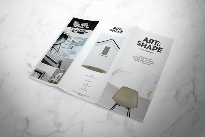 Thumbnail for Furniture Trifold Brochure
