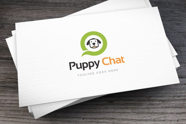 Thumbnail for Puppy_Chat_Logo_Template