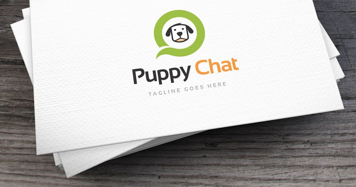 Puppy_Chat_Logo_Template by empativo