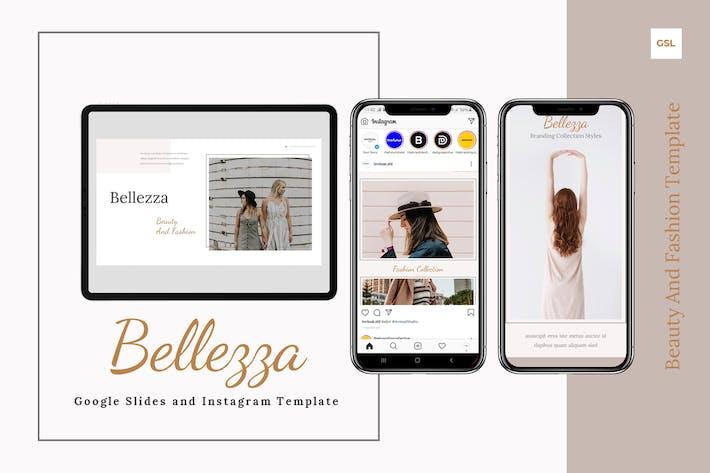 Belezza - Google Слайды & Инстаграм Шаблон