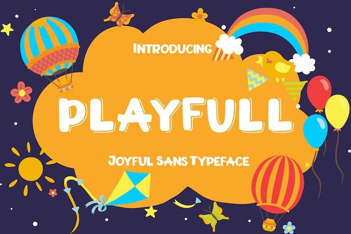 Cover Image For Playfull Joyful Sans