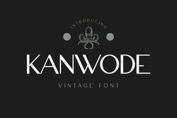 Thumbnail for Kanwode Sans Serif Display Font