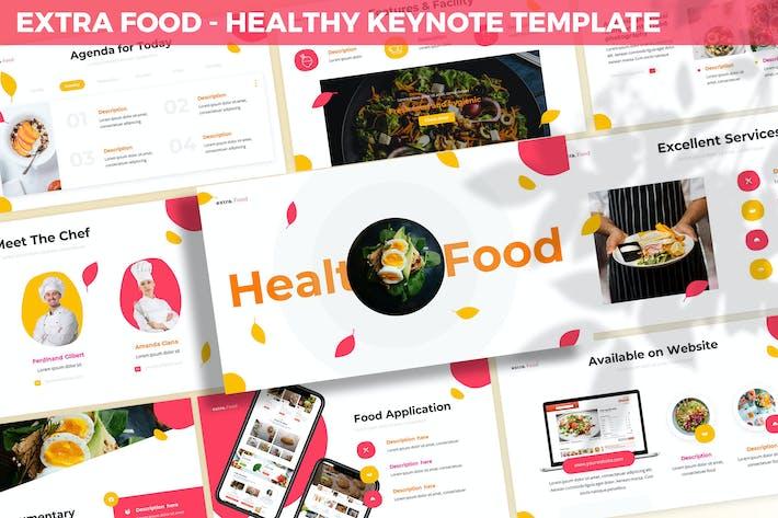 Extra Food - Healthy Keynote Template