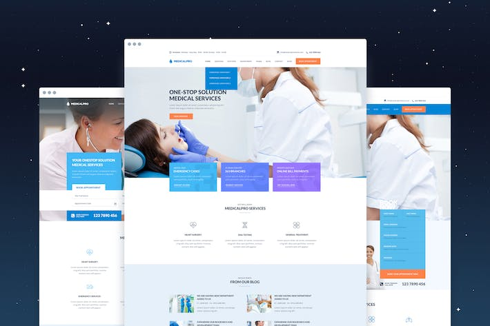 Thumbnail for MedicalPRO - Health and Medical PSD Template