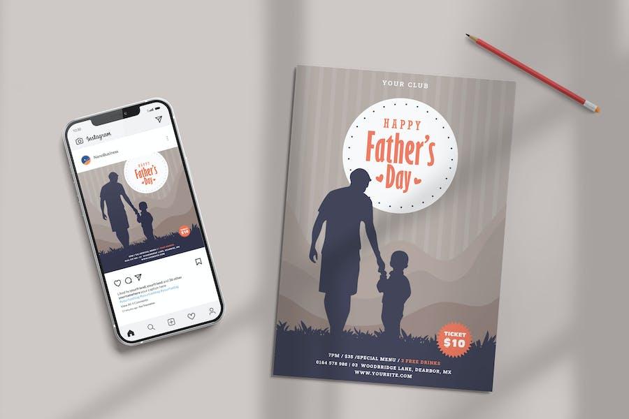 Modèle Fête des Pères