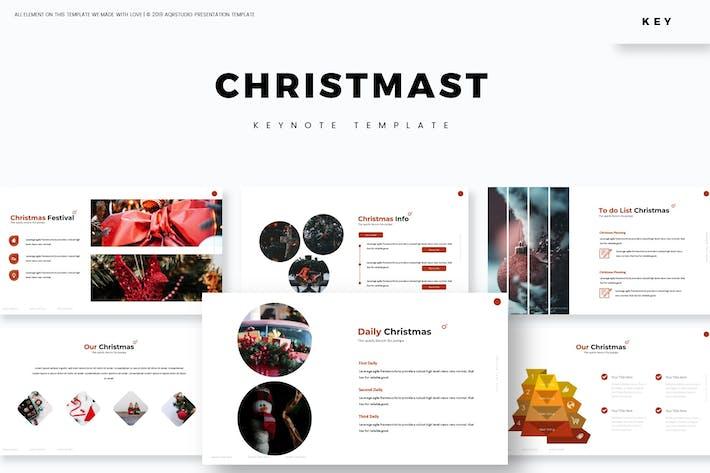 Thumbnail for Christmas - Keynote Template